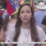 """I am Venezuelan and this video has to see the world"""