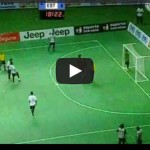 The best goal in the history of indoor soccer. Pure Talent!