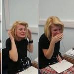 El emocionante momento que una mujer sorda escucha por primera vez la voz humana
