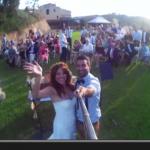 Nunca habías visto una luna de miel así… ¡Impresionante video con GoPro!