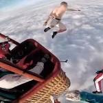 Se lanza desde 4.000 metros sin paracaídas… ¡y sobrevive!